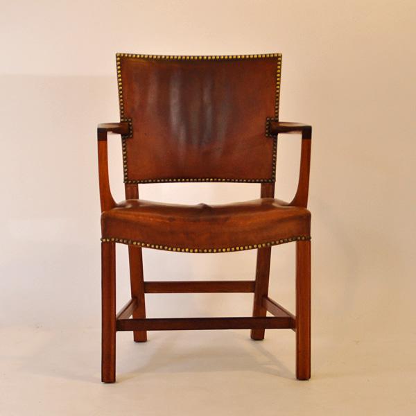 Kaare klint. Den røde stol